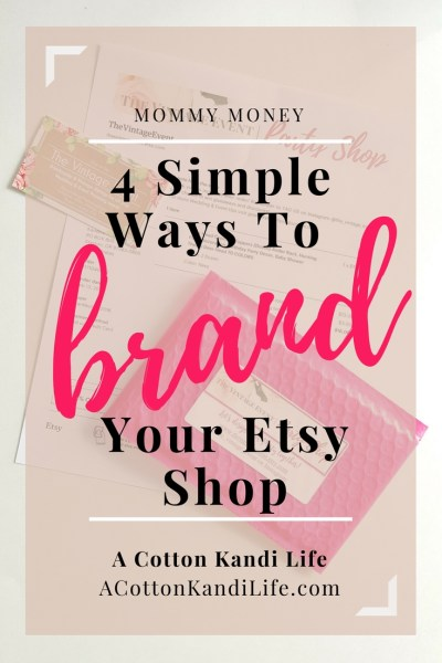 4 Simple ways to Brand your Etsy Shop. How to Brand your Etsy Shop