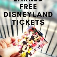How I Earned FREE Disneyland Admission Tickets | Yes FREE