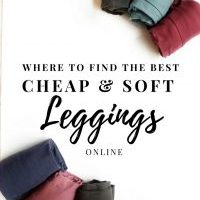 Where to find the BEST Cheap & Soft Leggings Online | Mom Uniforms