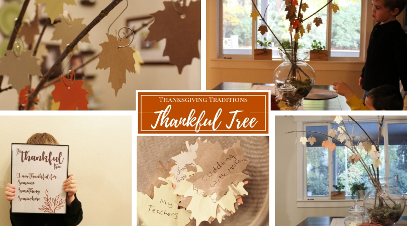 The Thankful Tree and Teaching Kids to be Grateful. Thanksgiving Traditions for kids. Teaching Gratitude. Thanksgiving Thankful Tree. Holiday Traditions for kids. Thanksgiving Activities for Kids.
