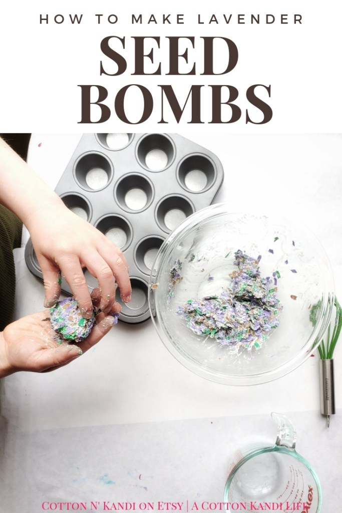 You're the BOMB Mom! Easy and Fun Lavender Seed Bombs make great gifts for Teacher Appreciation Week, and Mother's Day Gifts the Kids can make. See the full DIY Tutorial here