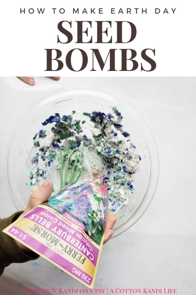 How to make Biodegradable Earth Day Seed Bombs. Earth Friendly DIY Projects for Kids. My boys LOVED making these DIY Seed Bombs to give to their Teachers for Teacher Appreciation Week. This would be a great Preschool Earth Day Lesson too! DIY Seed Bombs were fun, simple and cheap, plus the boys did it all on their own. I highly recommend this Kids DIY Project Idea for Mother's Day Gifts, Teacher Appreciation Week Gifts, Gifts for Grandmas and Earth Day Craft Projects.