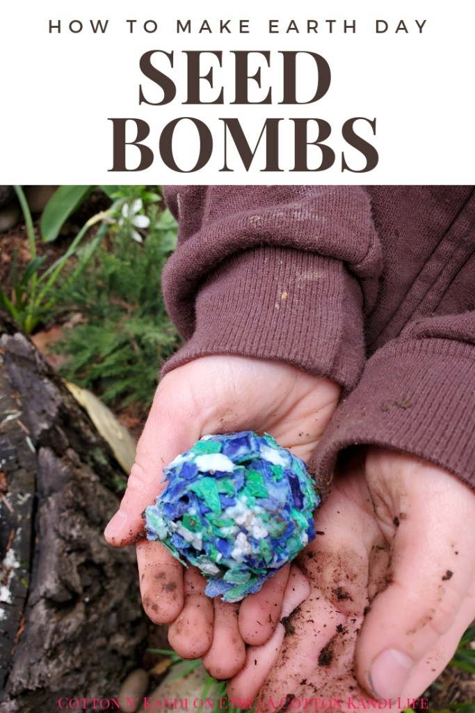 Earth Day Projects might be my favorite lessons to teach. Earth Day also falls right around Teacher Appreciation Week, so combine the two!  My boys LOVED making these DIY Seed Bombs to give to their Teachers for Teacher Appreciation Week. This would be a great Preschool Earth Day Lesson too! DIY Seed Bombs were fun, simple and cheap, plus the boys did it all on their own. I highly recommend this Kids DIY Project Idea for Mother's Day Gifts, Teacher Appreciation Week Gifts, Gifts for Grandmas and Earth Day Craft Projects.