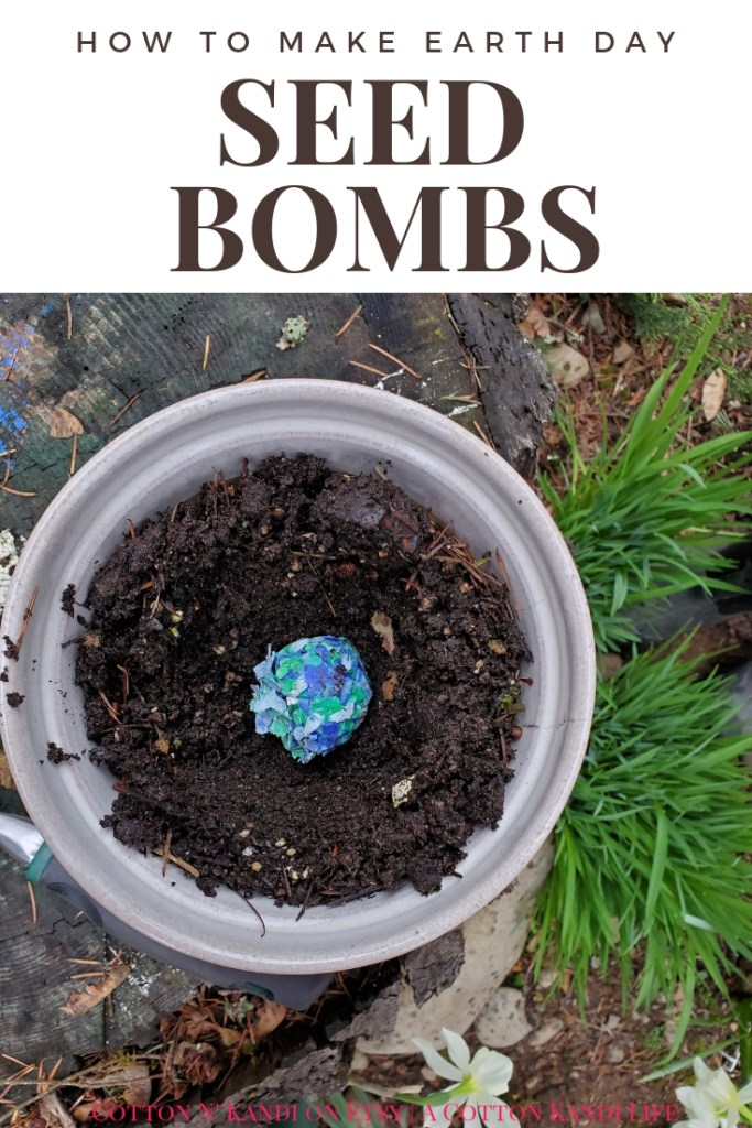 How to Make Earth Day Seed Bombs. My boys LOVED making these DIY Seed Bombs to give to their Teachers for Teacher Appreciation Week. This would be a great Preschool Earth Day Lesson too! DIY Seed Bombs were fun, simple and cheap, plus the boys did it all on their own. I highly recommend this Kids DIY Project Idea for Mother's Day Gifts, Teacher Appreciation Week Gifts, Gifts for Grandmas and Earth Day Craft Projects.