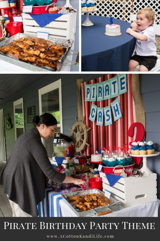 How to throw a Pirate Birthday Party for Under $100. 5 Tips I use to keep my Birthday Parties under Budget. Pirate Birthday Party Ideas and Pirate Party Decorations. Third Birthday Theme Ideas. Fun Birthday Themes for 3 Year Olds. Easy Birthday Themes.