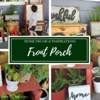 Front Porch Decorating | Farmhouse Inspirations