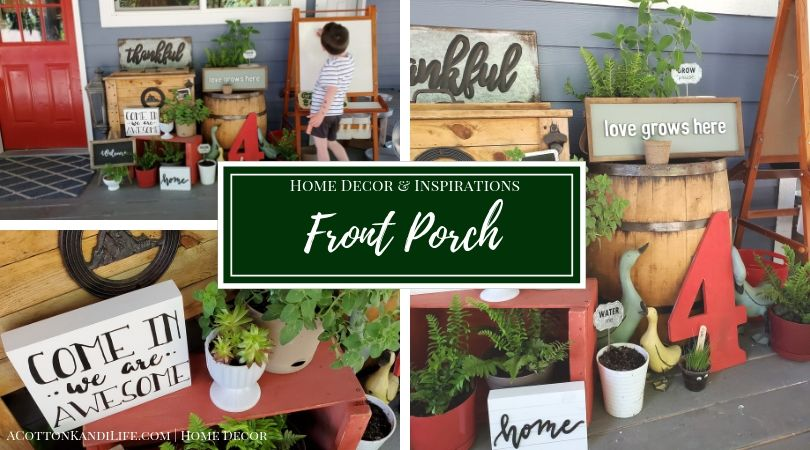 Decorating my Front Porch is one of my favorite things to do, especially for Seasonal Decorating. Learn where I find all of my Wrap Around Porch Decorations and be inspired for Summer on the Porch. Patriotic Porch Decorations. Summer Porch Decorating Ideas.