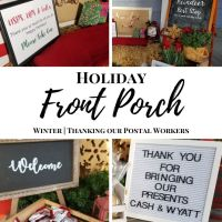 Postal Worker Thank You Basket Ideas | Porch Decor