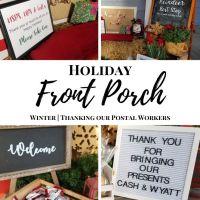 Postal Worker Thank You Basket Ideas | Porch Decor
