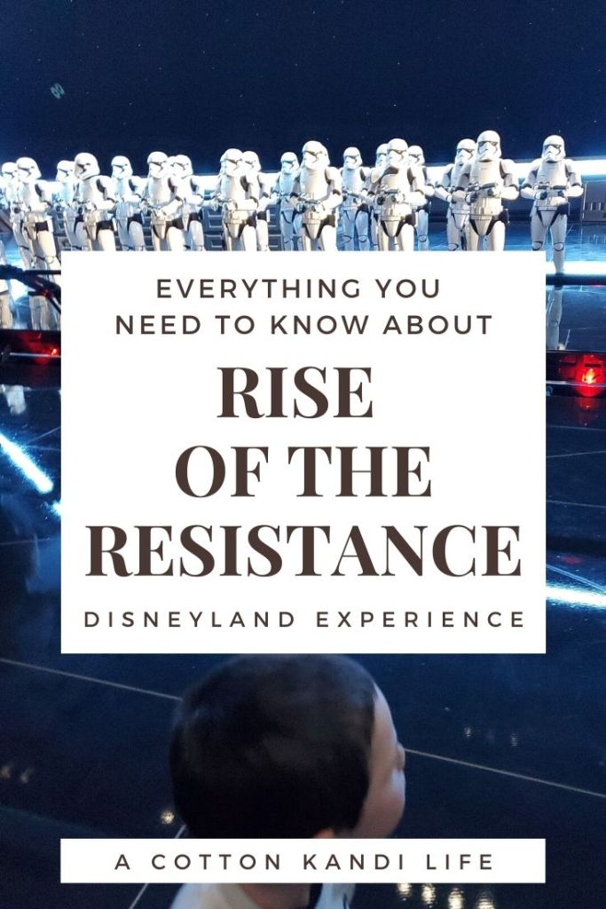 I'm taking you on a quick tour through the new Star Wars Ride: Rise of the Resistance. Here is a little insight into how long it is and what to expect.  . Disneyland's new Star Wars ride details. Everything you need to know about Rise of the Resistance.