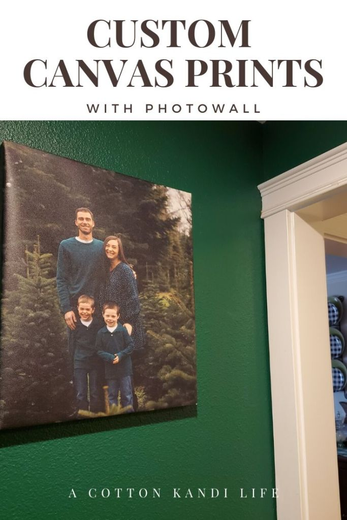 Custom Canvas Prints are the perfect way to keep your home up to date all year. If you're looking for ideas on how to use your Wedding Pictures or what to do with Senior Portraits, this is the way to go.  . I used PhotoWall for this order and they shipped free and fast. You can order custom prints, posters and wallpaper.  . Decor Ideas on a Budget. Home Decor Inspirations. Affordable Canvas Printing. DIY Home Decor for Home Interiors. canvas prints on wall family pictures