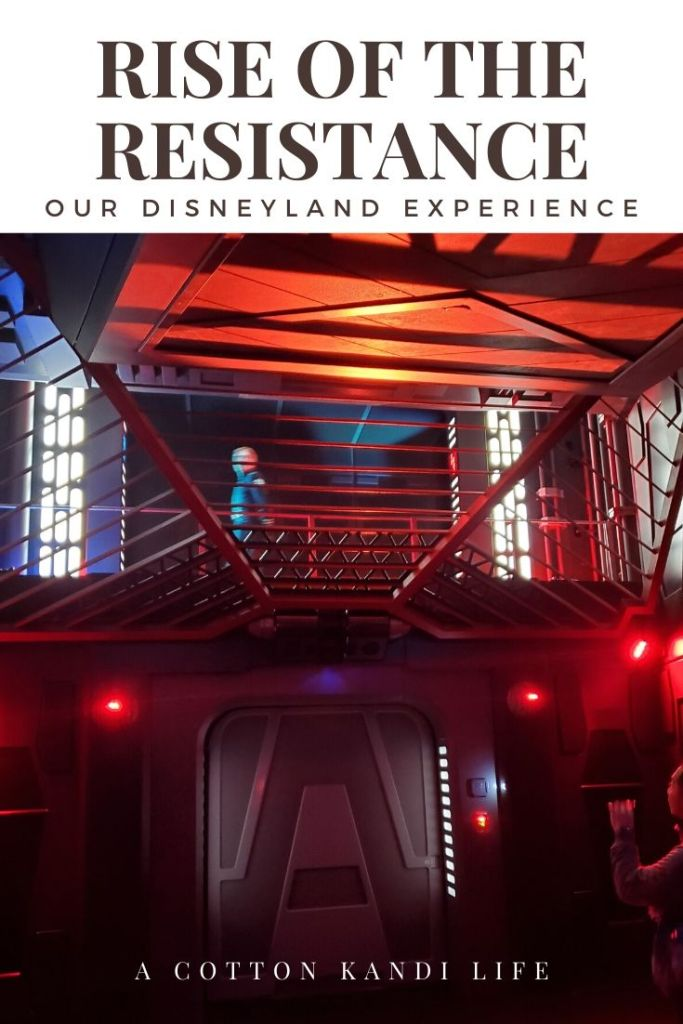 General Hux and Kylo Ren interrogate you on the location of the Rebel Base. I'm taking you on a quick tour through the new Star Wars Ride: Rise of the Resistance. Here is a little insight into how long it is and what to expect.  . Disneyland's new Star Wars ride details. Everything you need to know about Rise of the Resistance.