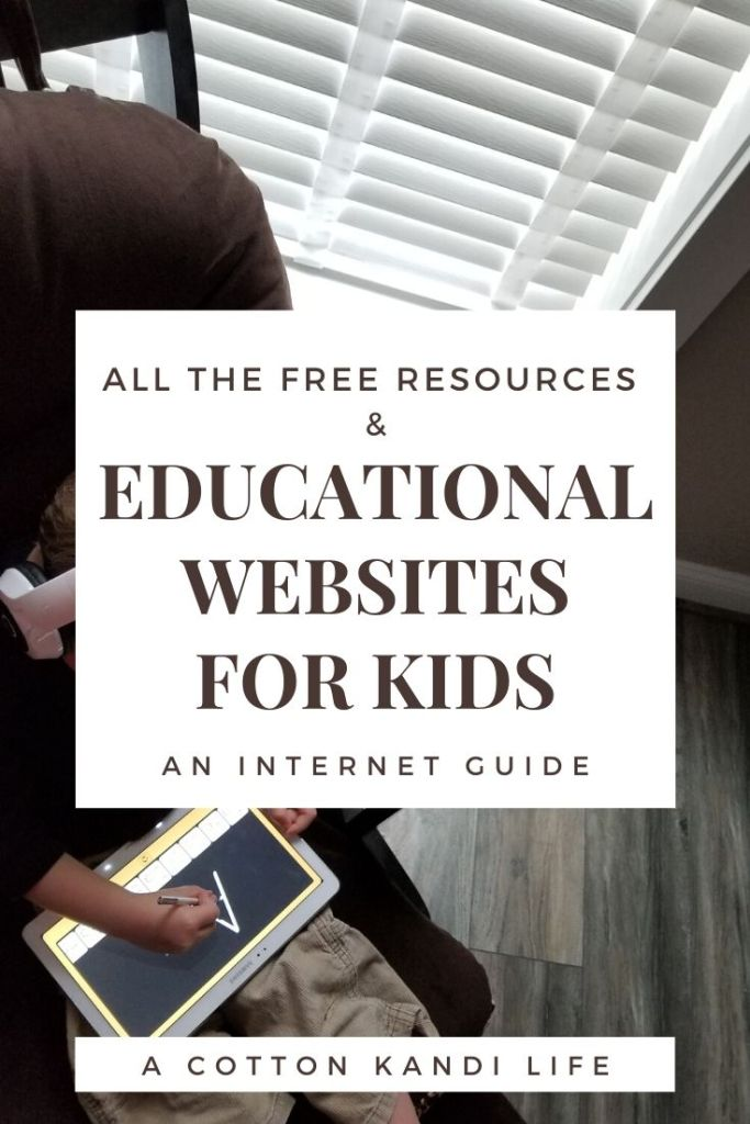 Here's the thing, I have no interest in  becoming a home school parent. I still have a full work day of my own to manage. Sure, it's an at home business, but I need Educational Websites my kids can run on their own. Here is my list of Educational Website for Kids with Free or nearly Free resources.
