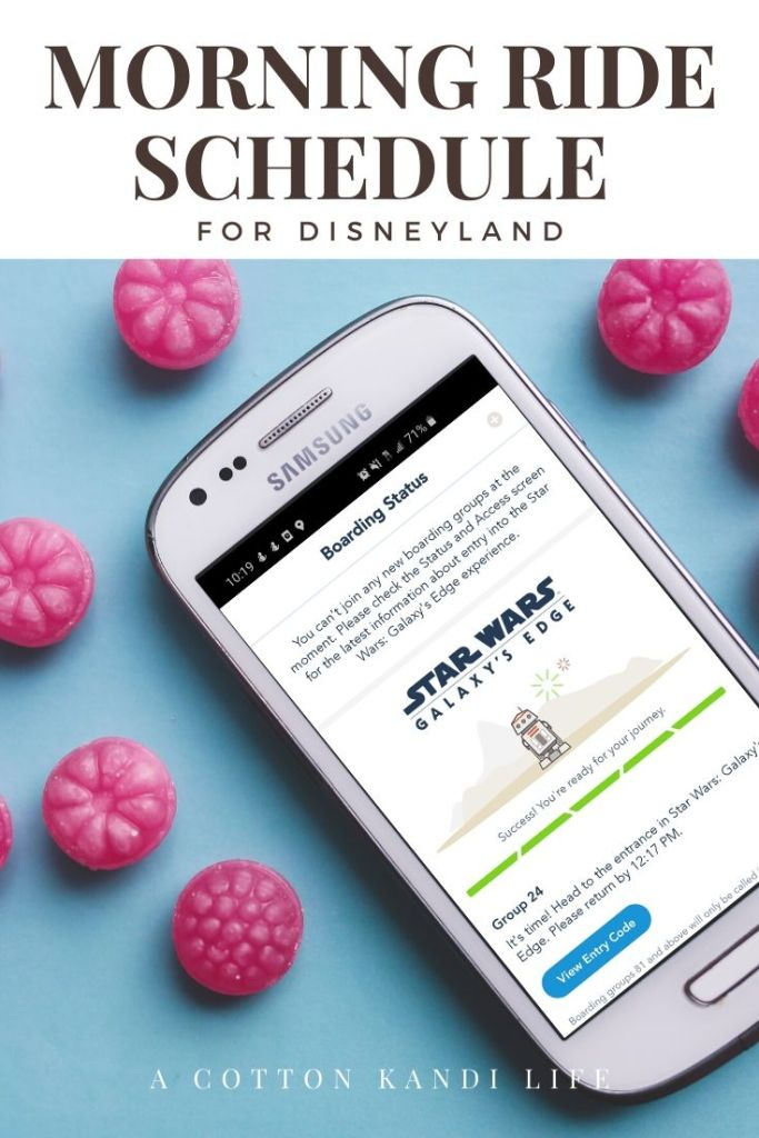Get the most out of your Disneyland Ride Schedule by having a game-plan set before you get there. I'm sharing our experience and what we did so you can use it as a Schedule Template to map out your Disneyland Itinerary.  * Boarding passes for Rise of the Resistance: Everything you need to know about your Disneyland Morning Ride Schedule from where to start with young kids to how we did 10 rides in 2 hours.