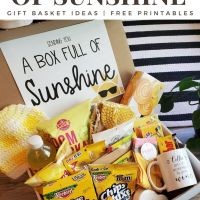 How to Send A Box of Sunshine