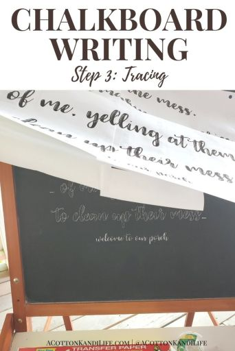Chalkboard Lettering can be intimidating, but oh so fun! That's why I wrote up this quick and easy, DIY Chalkboard Writing Tutorial. If you want Chalkboard Writing Ideas, designs or quotes find them here for the fall and holidays too.