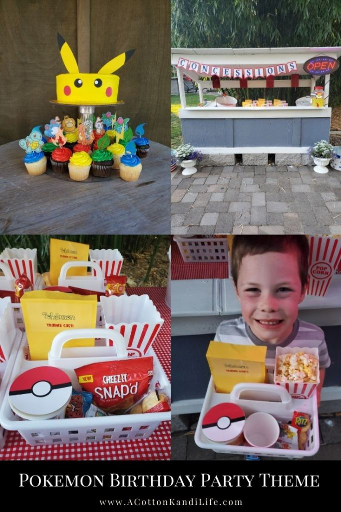 How to have a Pokemon Movie Night Concession Stand. Everything you need to know about Outdoor Theatres and a Pokemon Birthday Party ***** Pokemon Party Theme Ideas