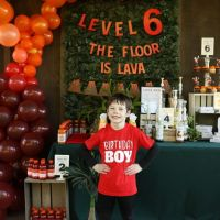 How to Throw a Floor is Lava Birthday Party