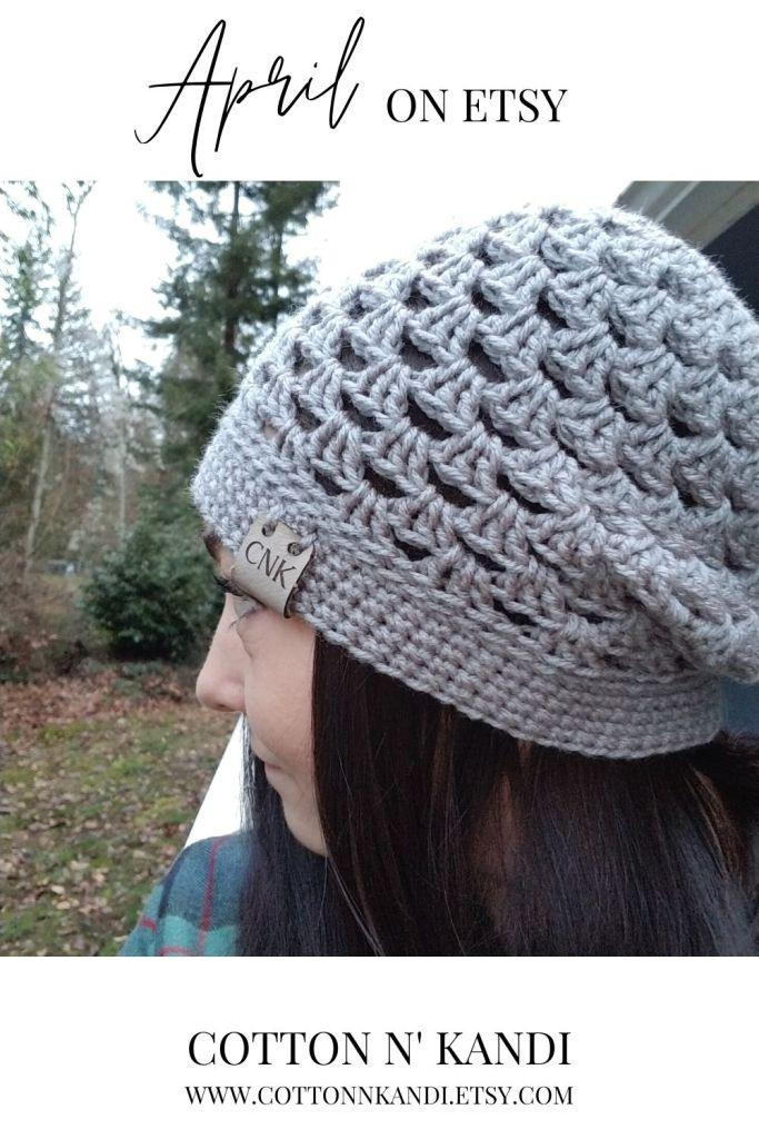A little side view of the Lacey Slouchy Hat in Heather Grey. . Shop all Slouch Hats here: https://www.etsy.com/shop/CottonNKandi?ref=seller-platform-mcnav&section_id=23023125 . . #cottonnkandi #springtrends #springtrend #springfashion #etsyhandmade #etsysellersofinstagram #etsyfind  #etsygifts #etsyhunter #etsysellers #etsysale #etsyforall #etsyusa #shopetsy #etsyfinds #etsyshopowner  #craftsposure #toddlerfashion #etsystore #creativelifehappylife #makersvillage #makersmovement #supporthandmade #calledtobecreative #favehandmade #etsylove #creativepreneur #shophandmade #kidsfashion #creativityfound