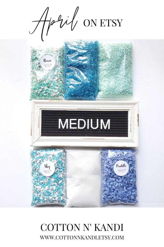 Upgrade your Sensory Bin to the Medium Size and score 6 total textures. This kit adds in Blue Pebble Rocks and Glitter Shy Sprinkles for more Sensory Fun.  *  SHOP this Bin: https://www.etsy.com/listing/850983872/sensory-bin-april-blair-waldorf-toys?ref=shop_home_active_4&pro=1 * . . #cottonnkandi #etsyhandmade #etsysellersofinstagram #etsyfind #sensoryplay #sensorybinideas #sensorybin #discoverylearning #sensorytoys #playideas #learnthroughplay #learningthroughplay #toddleractivities #finemotorskills #invitationtoplay #playbasedlearning #montessoriinspired  #kidactivities #playmatters #earlylearning #preschoolactivities #letthemplay #playandlearn #sensory #creativitymatters #Creativityfound #earlychildhoodeducation #shopetsy #totschool