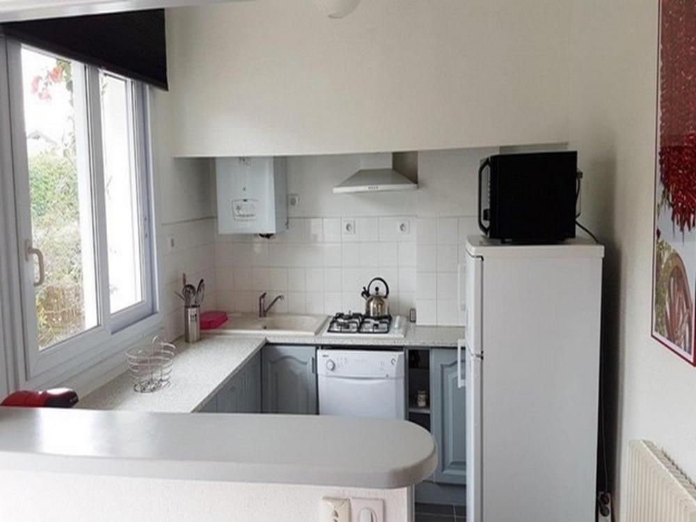 Appartement en rez de chausse de villa en location vacances  St Jean de Luz