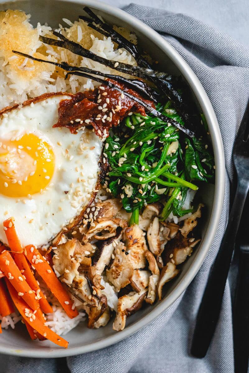 Homemade Dolsot Bibimbap – A Couple Cooks