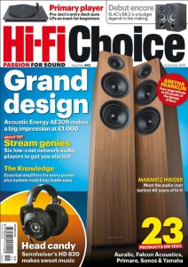 HiFi Choice November Cover