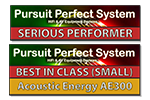 Persuit Perfect System AE300 Awards Logo