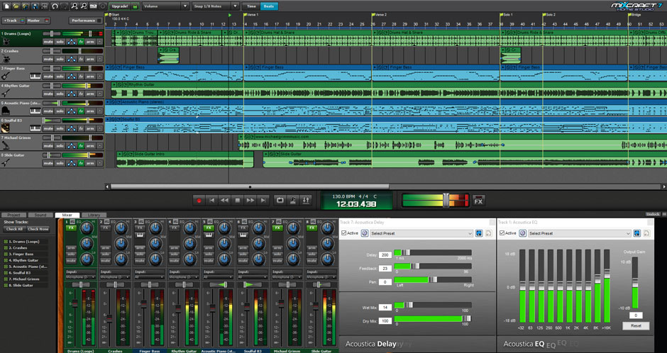 music making software mixcraft