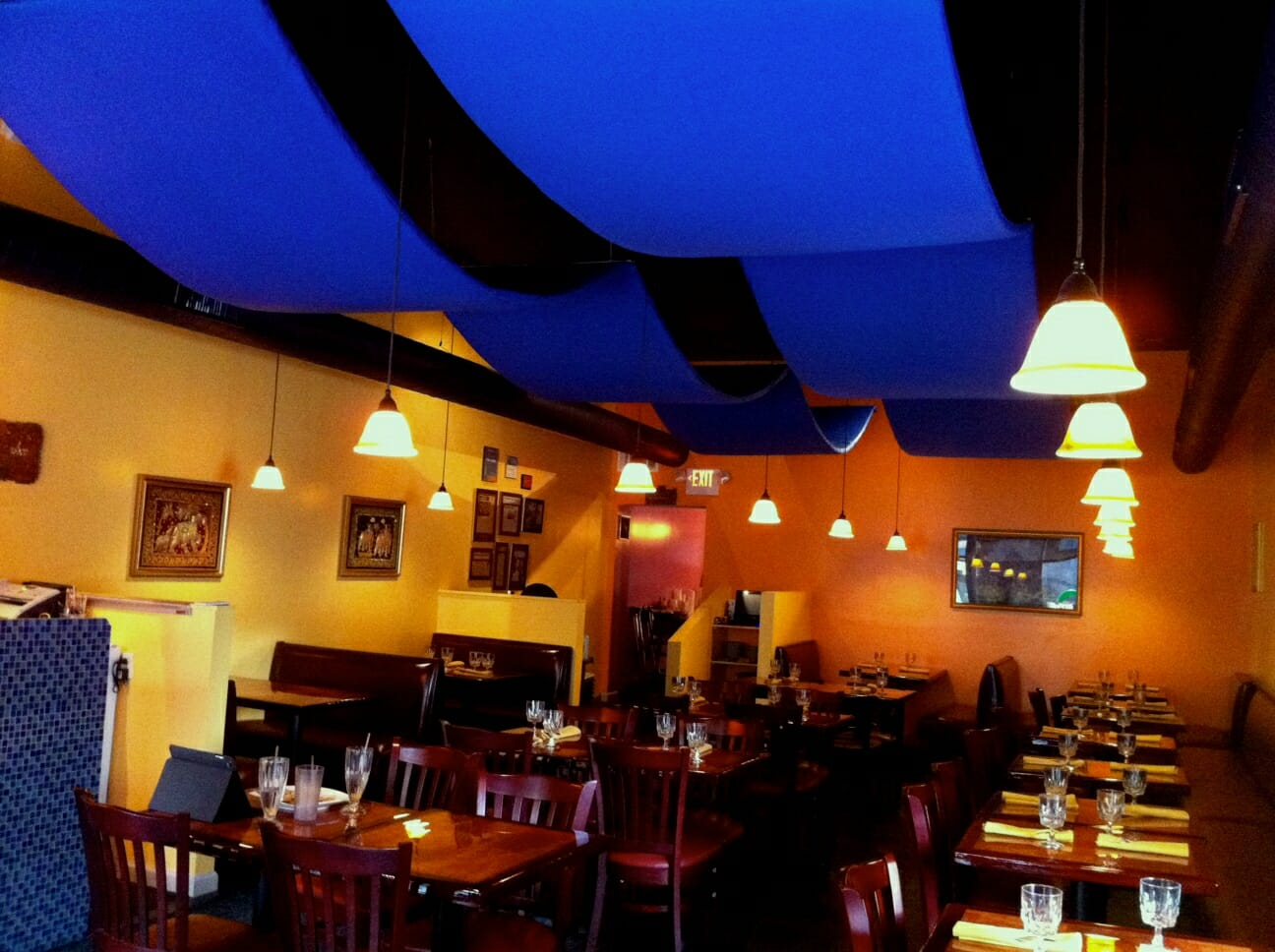 Acoustic Ceiling Banners  Sound Banners  Acoustical Surfaces