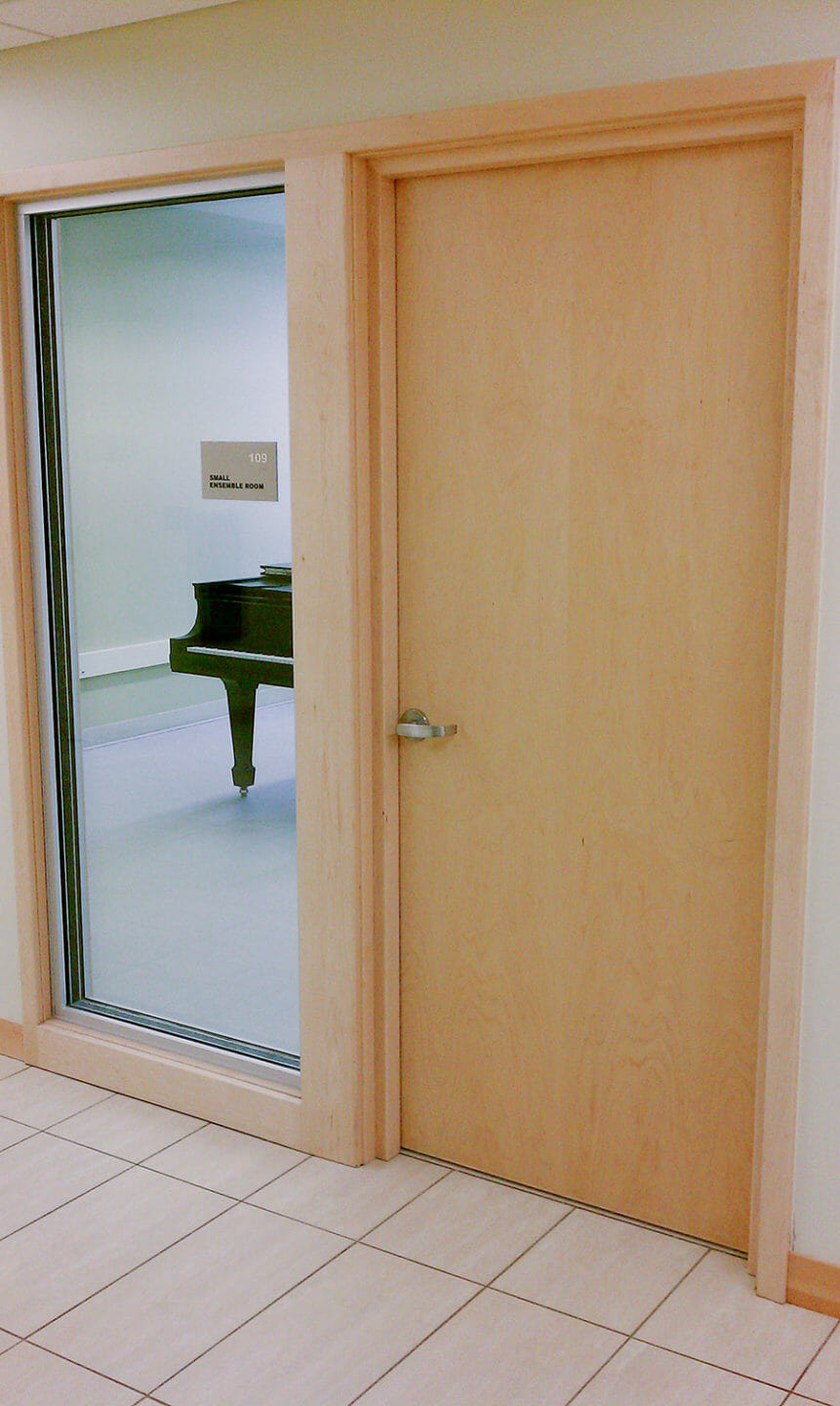 Soundproof Doors  Soundproof Interior Doors for Recording