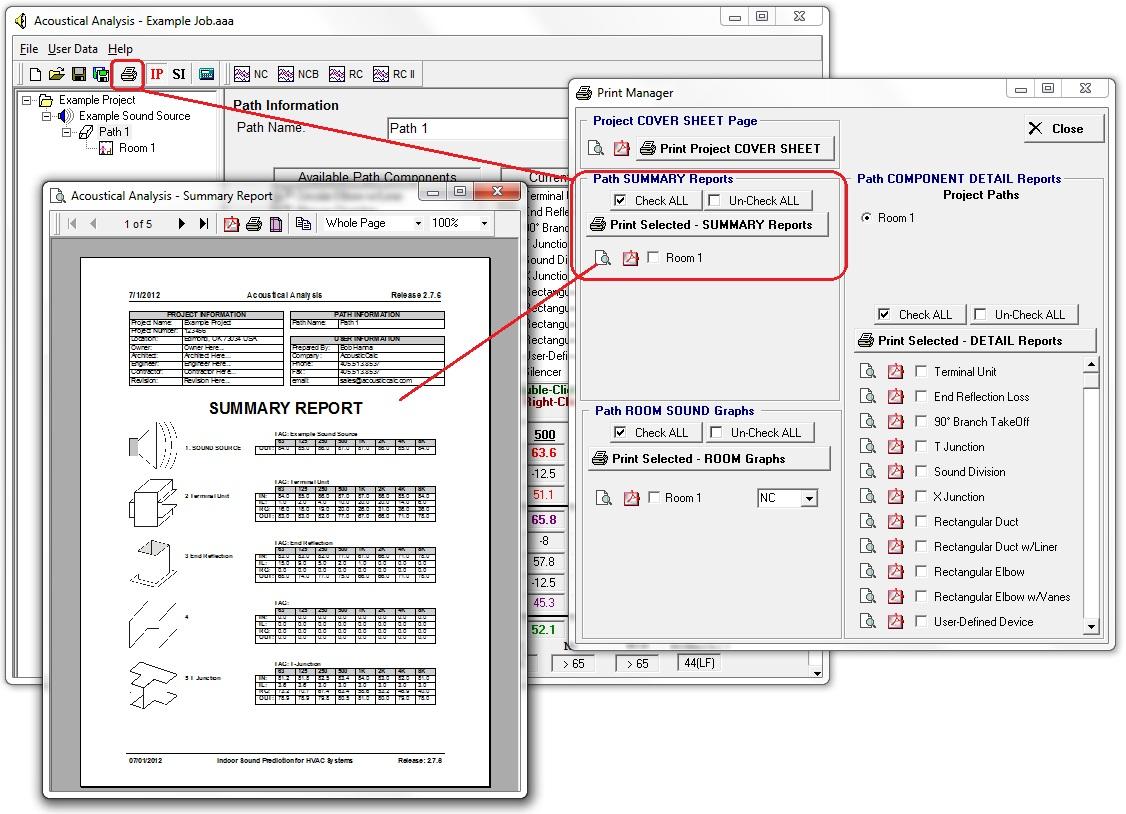 AcousticCalc HVAC Acoustical Analysis & Noise Prediction