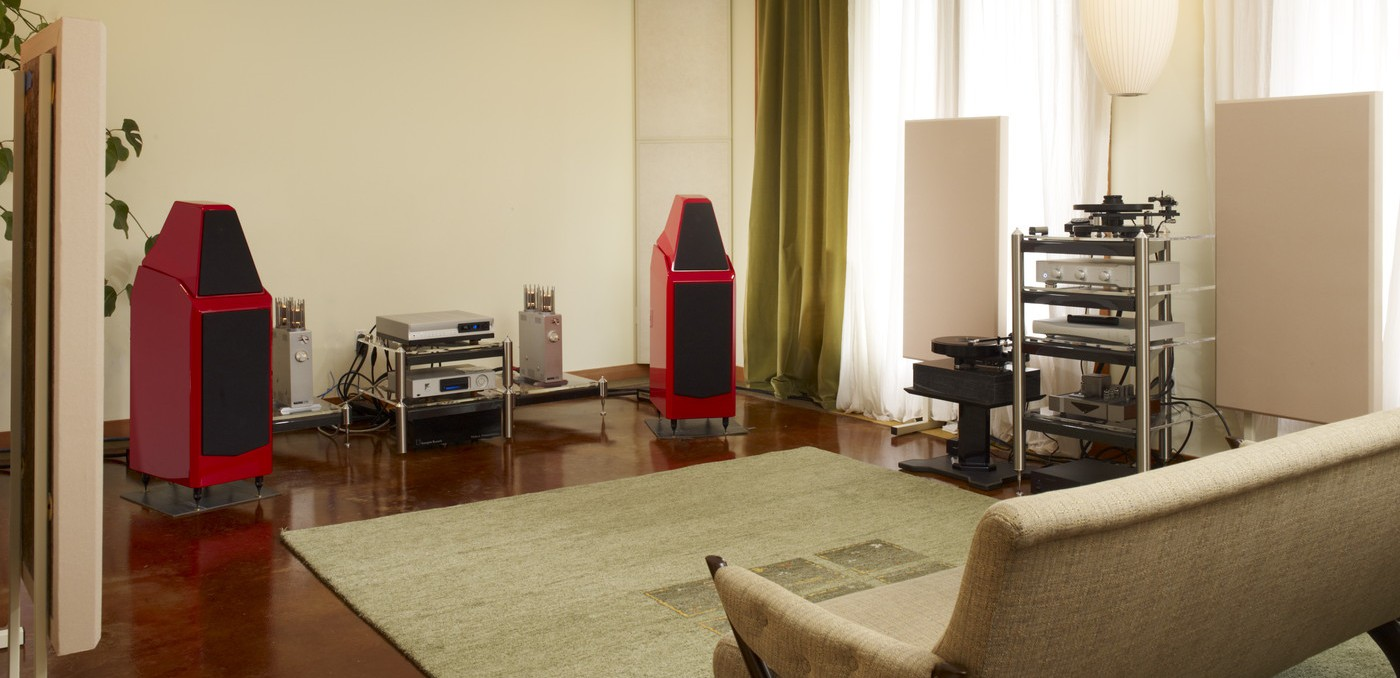 hight resolution of listening room design