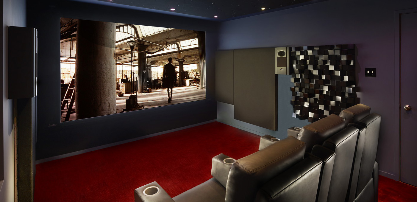 hight resolution of home theater design