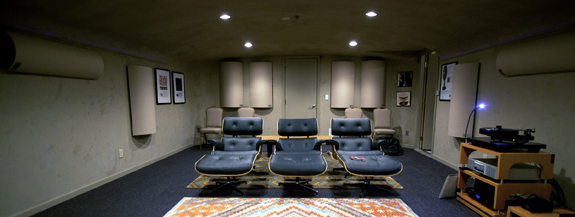 Music Listening Room  Acoustic Geometry