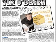 Tim O'Brien Ambassador from Cornbread Nation by Richard ...