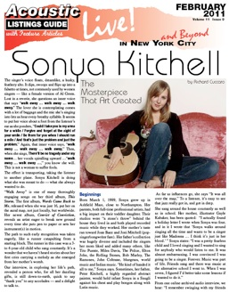Sonya Kitchell The Masterpiece That Art Created By Richard