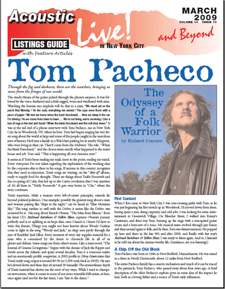 Tom Pacheco The Odyssey Of A Folk Warrior By Richard