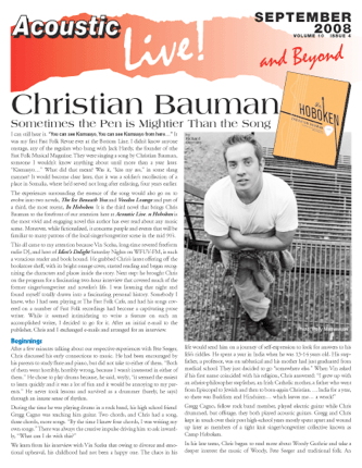 Christian Bauman Sometimes The Pen Is Mightier Than The Song By Richard Cuccaro