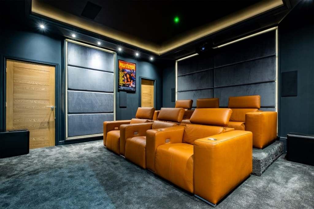 Harrogate Home Cinema Room