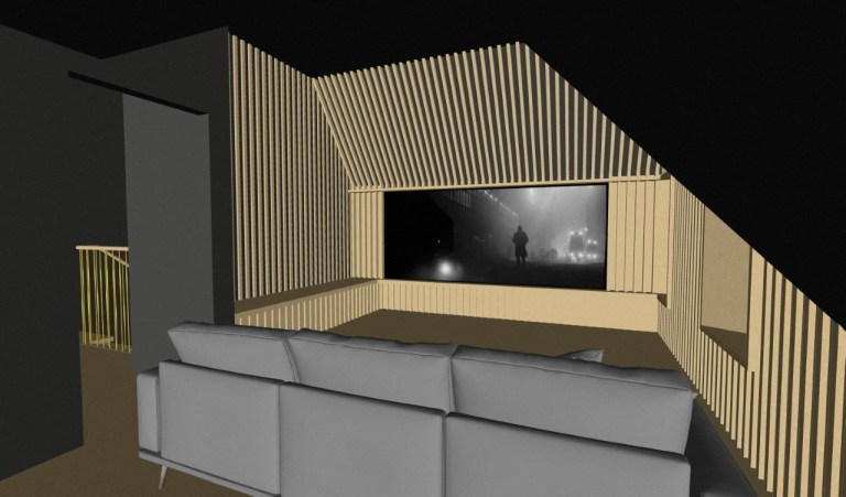 Loft Cinema Room