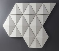 Moulded Acoustic Wall Panels - Felt Covered Panel