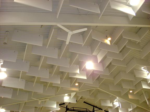 Cloudscape Ceiling Baffles (Encapsulated PVC