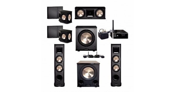 BIC Acoustech 7.2 System with 2 PL-89 II Floorstanding