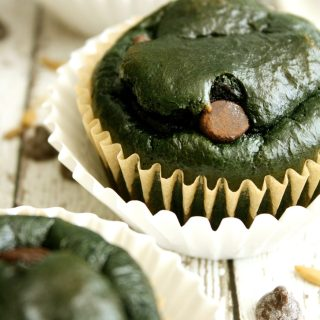 Cupcakes Naturalmente Verdes (Sem Glúten/Lactose/Açúcar)