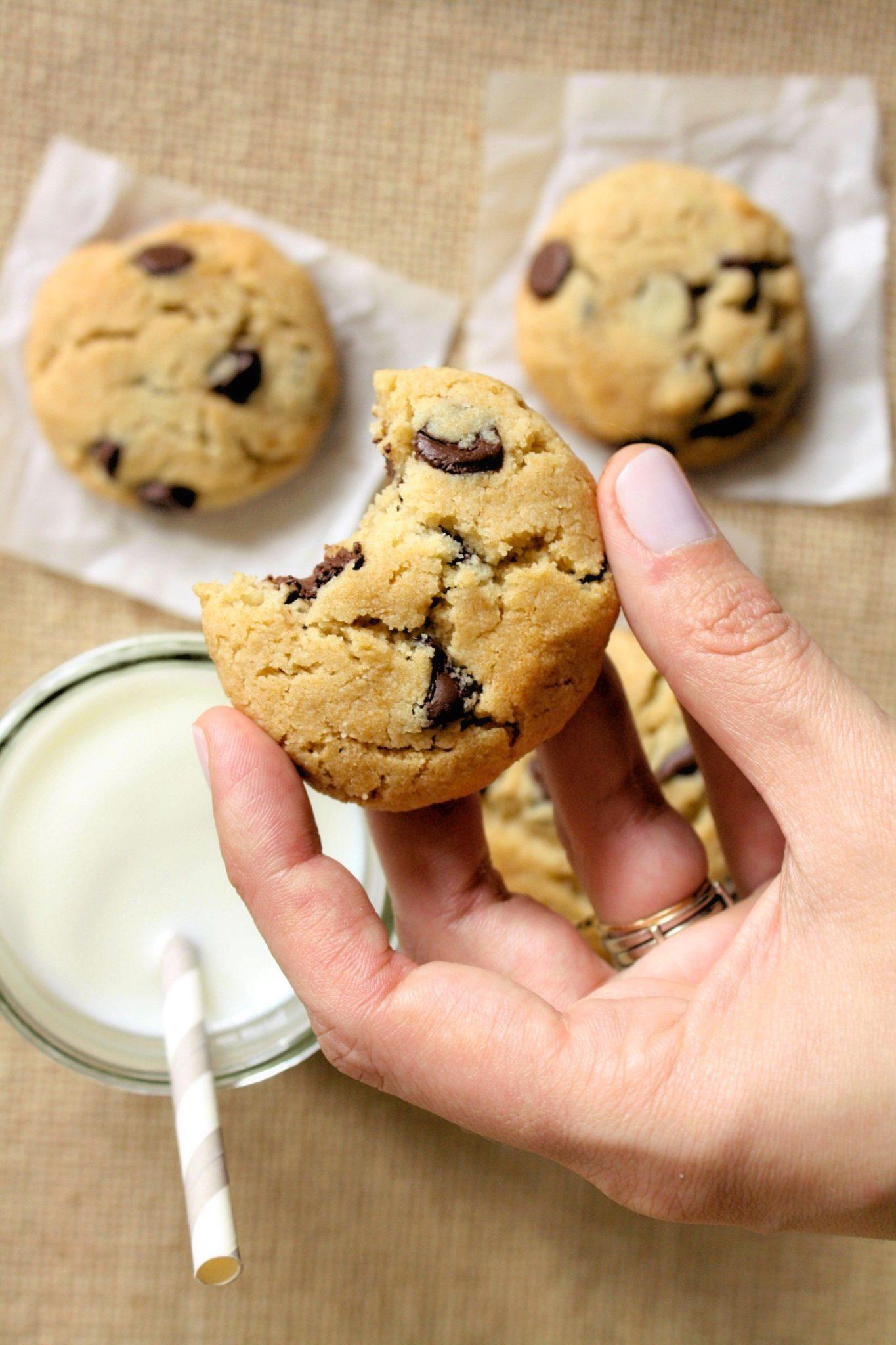 Chocolate chip cookies Low Carb, Sem Lactose e sem Açúcar!