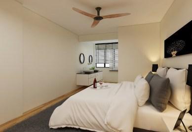 3D - master bedroom