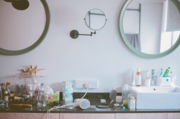 Master bedroom sink/counter