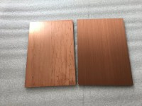 Easy Processing Copper Sheet Wall Cladding / Exterior Wall ...