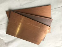 Rustproof Copper Facade Panels 3mm Thickness , Outside ...